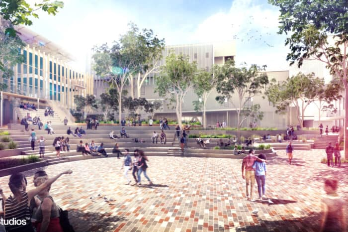 The University of Melbourne – New Student Precinct